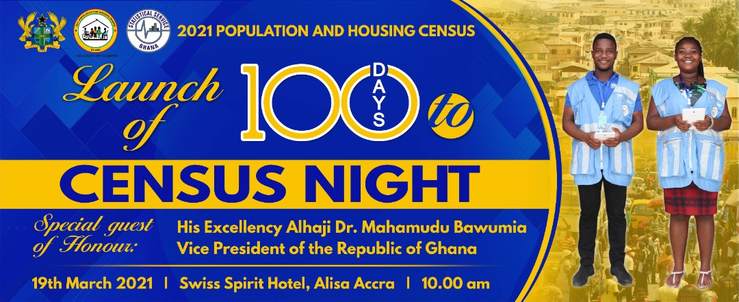 Date for the 2021 Population and Housing Census Night to be Announced